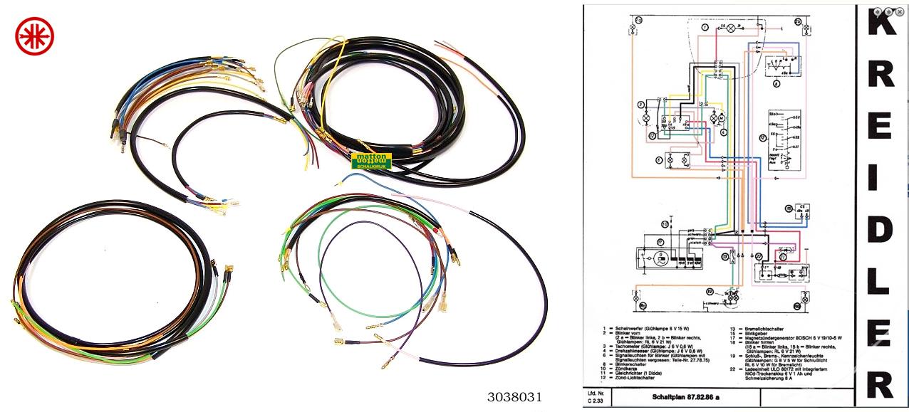 zundapp en kreidler onderdelen matton oldtimers Guitar Wiring Diagrams