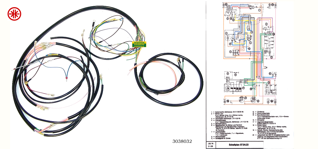 zundapp en kreidler onderdelen matton oldtimers rh matton nl Simple Wiring Diagrams Basic Electrical Wiring Diagrams